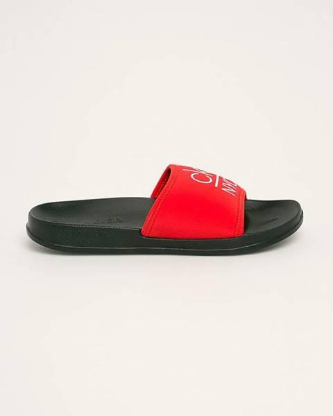 Červené boty calvin klein underwear