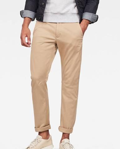 Béžové kalhoty G-Star RAW