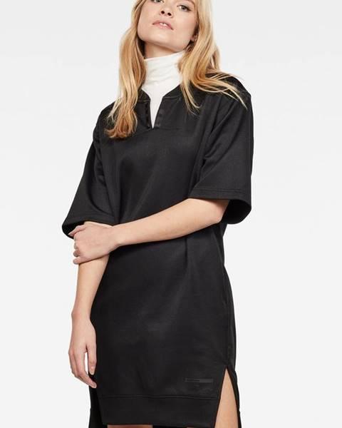 Burgundské šaty G-Star RAW