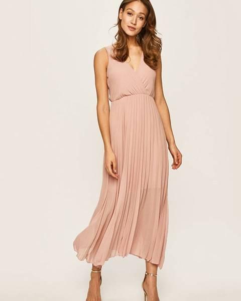 Růžové šaty Haily's