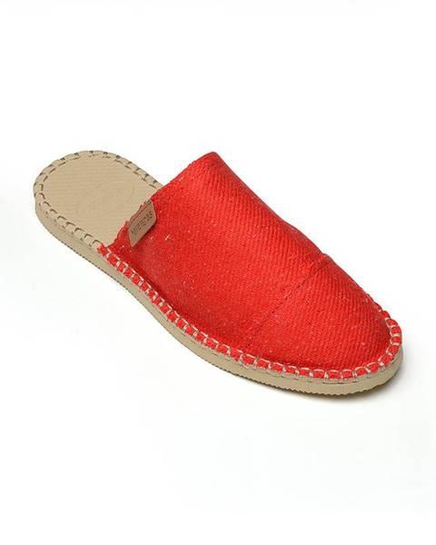 Červené boty havaianas