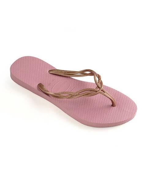 Fialové boty havaianas