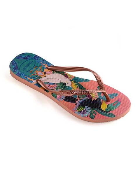 Vícebarevné boty havaianas