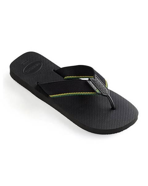 Černé boty havaianas