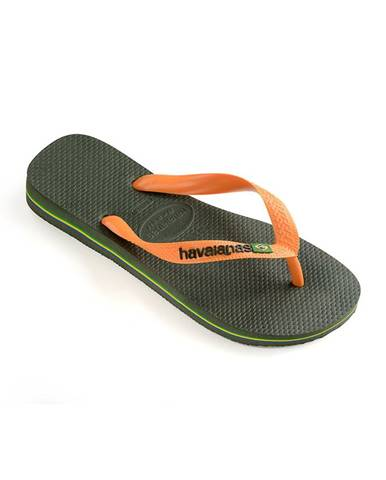 Zelené boty havaianas