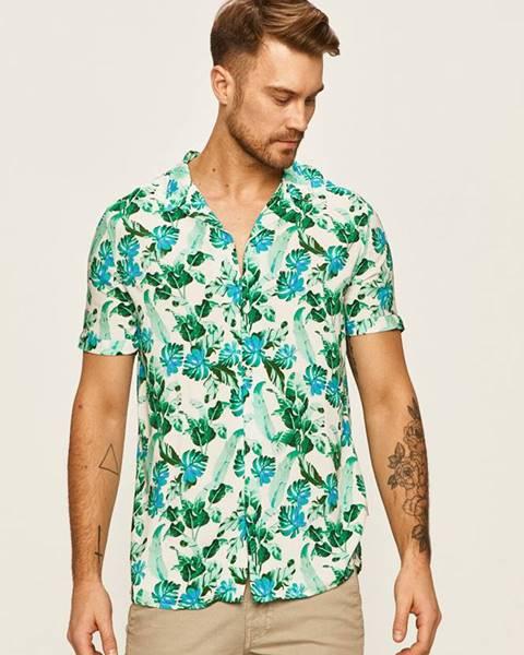 Zelená košile Guess Jeans