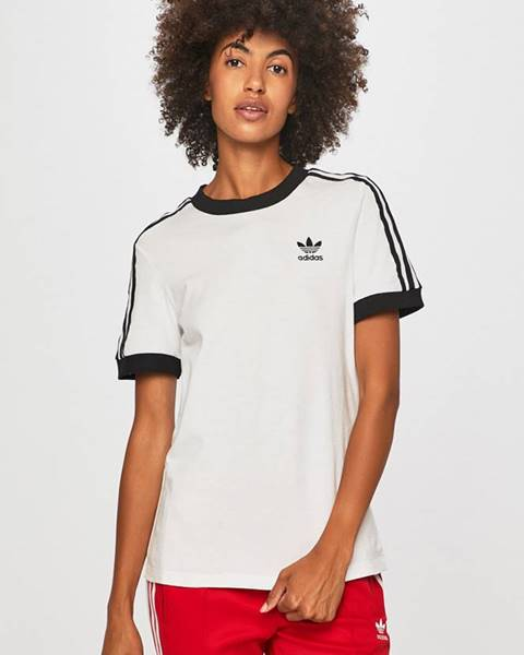 Bílý top adidas originals