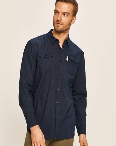 Modrá košile Guess Jeans