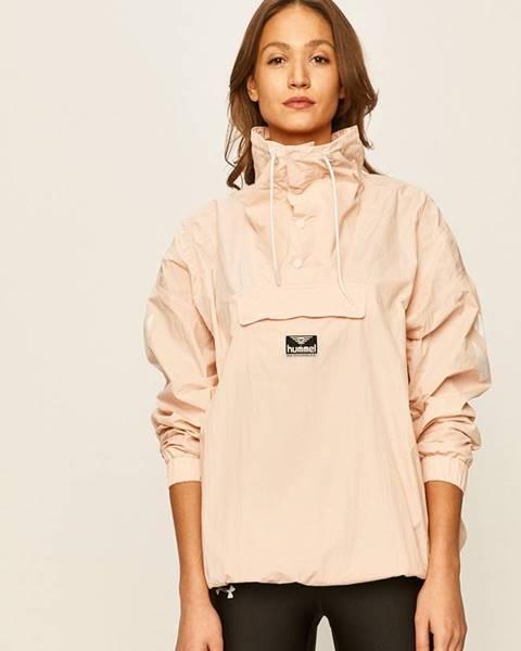 Růžová bunda Hummel