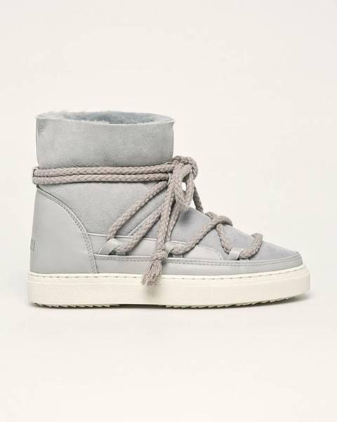 Šedé boty Inuikii