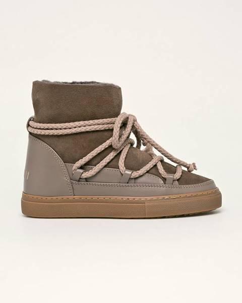 Hnědé boty Inuikii