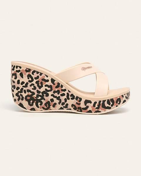 Béžové boty ipanema