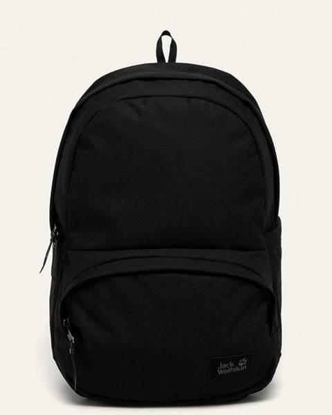 Černý batoh Jack Wolfskin