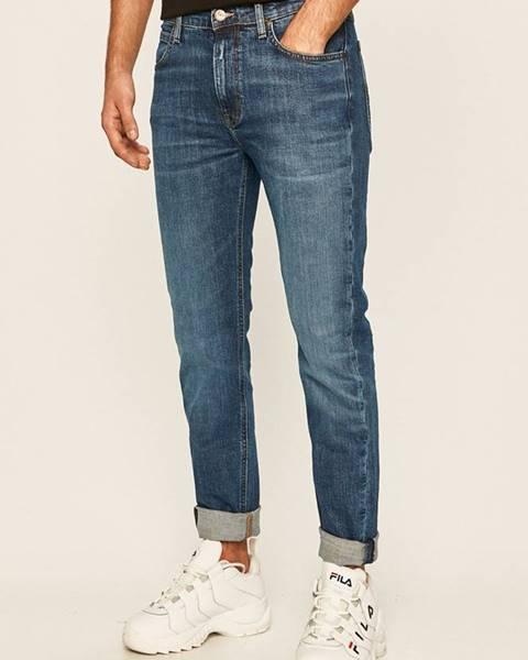 Modré kalhoty lee
