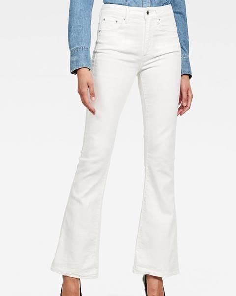 Bílé kalhoty G-Star RAW