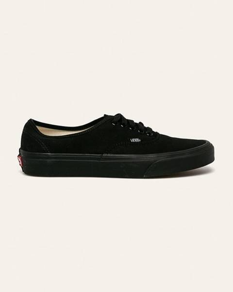 Černé boty vans