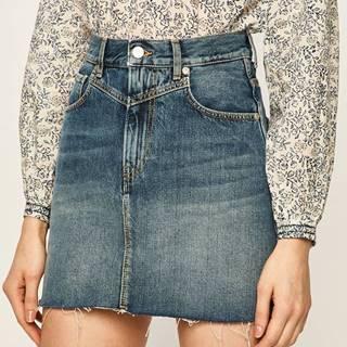 Pepe Jeans - Džínová sukně Rachel Archive