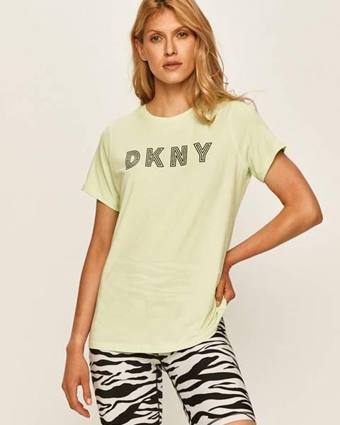 Zelený top dkny