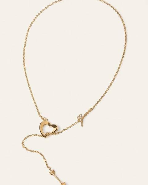 Zlatý náhrdelník Guess Jeans