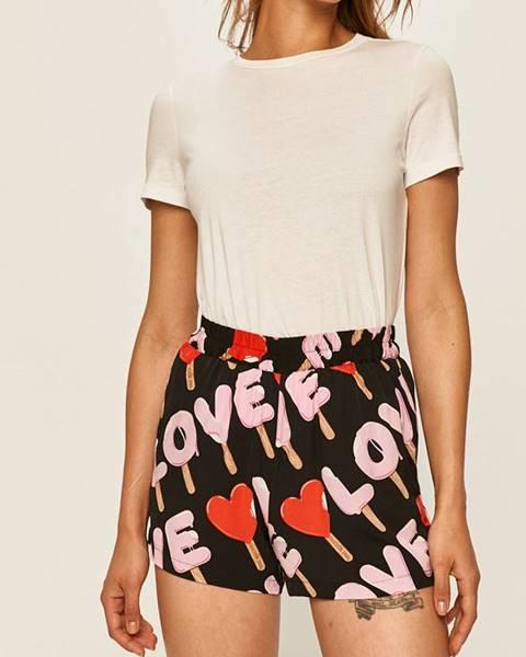 Růžové kraťasy Love Moschino