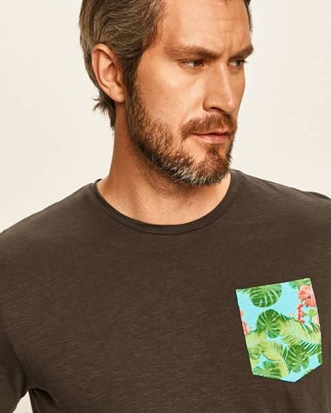 Šedé tričko tom tailor denim