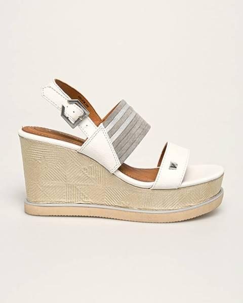 Bílé boty wrangler