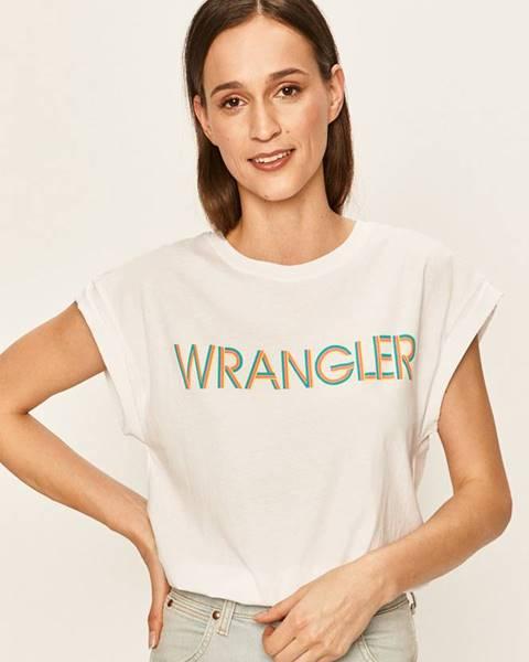 Bílý top wrangler