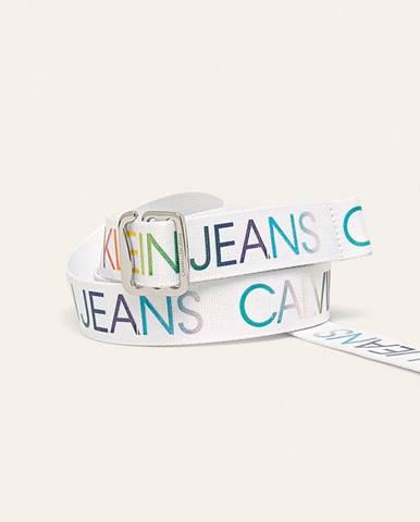 Bílý pásek Calvin Klein