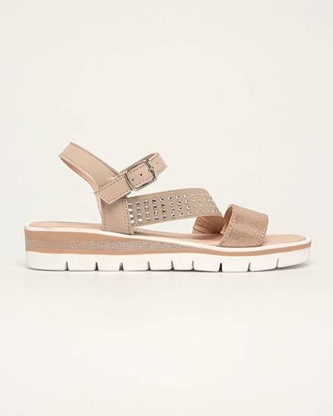 Růžové boty Marco Tozzi