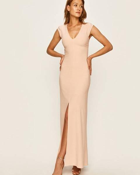 Růžové šaty Patrizia Pepe