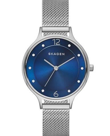 Šedé hodinky Skagen