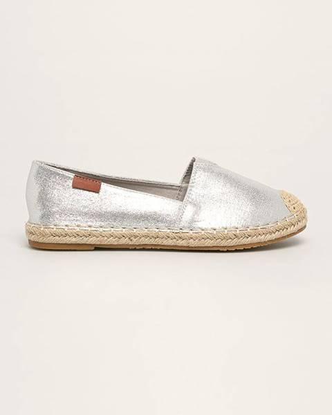 Stříbrné boty ANSWEAR