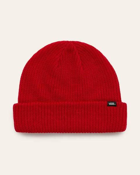 Červená čepice vans