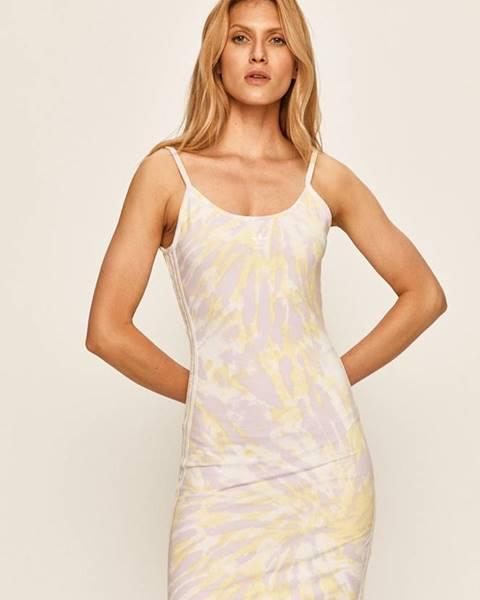 Fialové šaty adidas originals