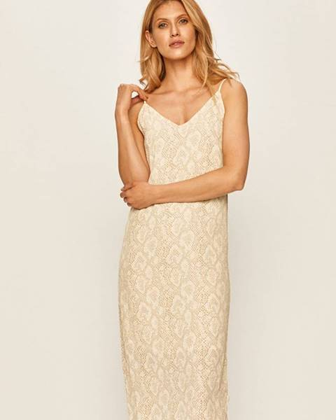 Béžové šaty Brixton