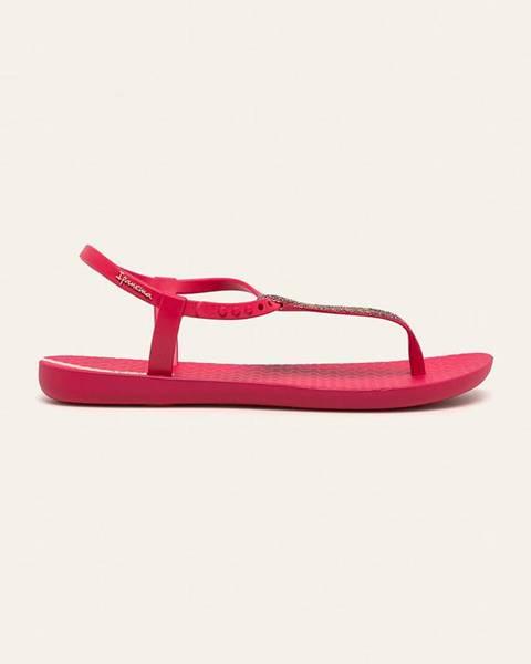 Fialové boty ipanema