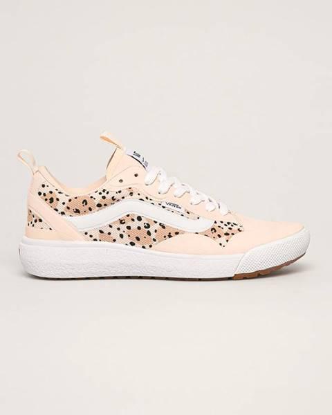 Růžové boty vans
