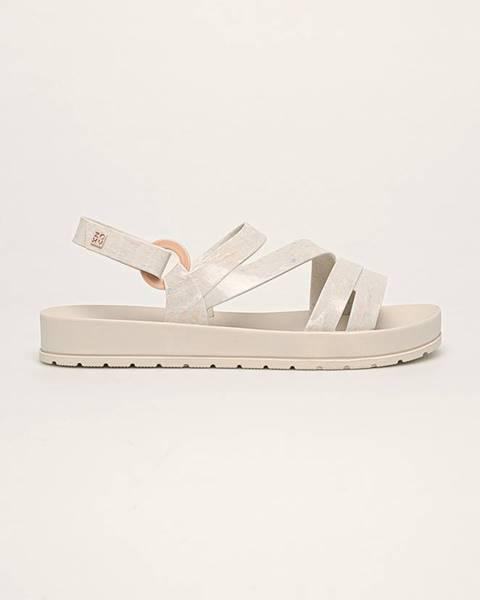 Šedé boty zaxy