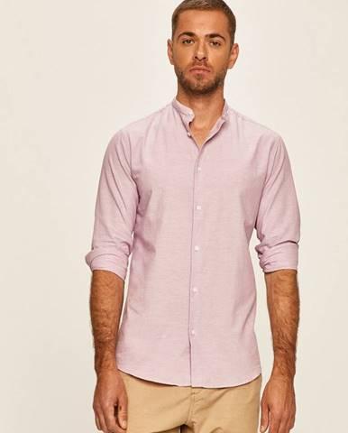 Růžová košile SELECTED