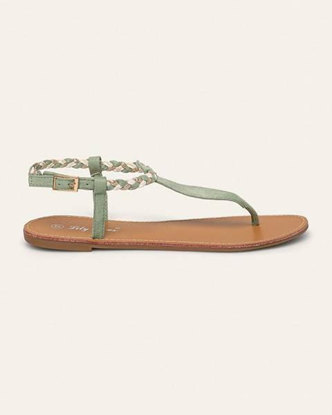 Tyrkysové boty ANSWEAR