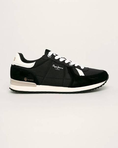 Černé boty pepe jeans