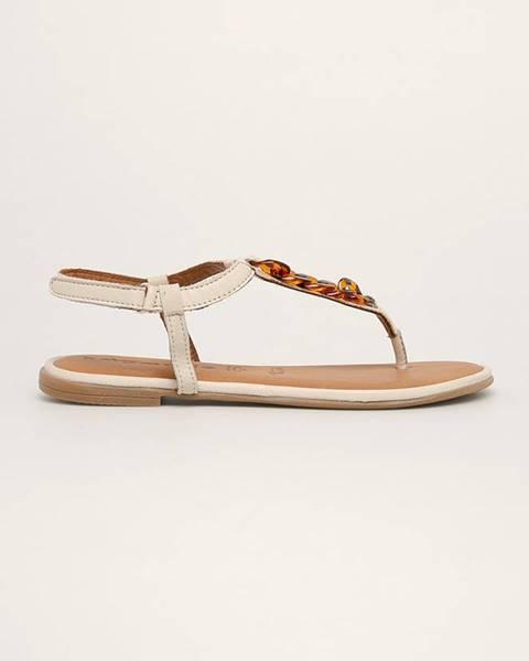 Bílé boty tamaris