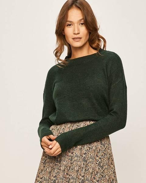 Zelený svetr vero moda