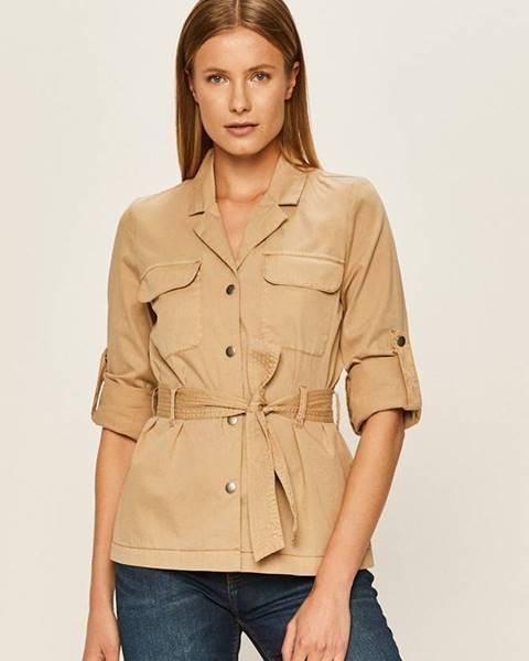 Béžová bunda vero moda