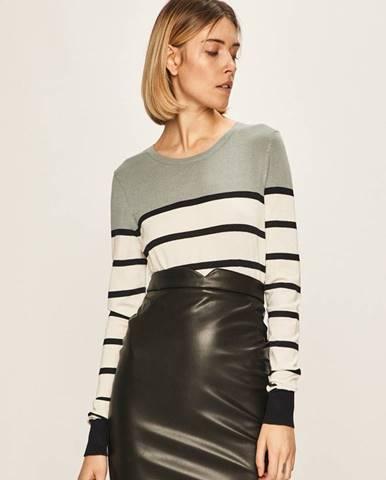 Tyrkysový svetr vero moda