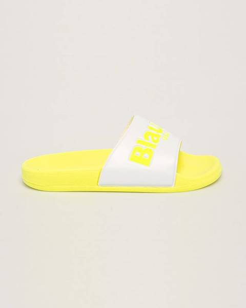 Žluté boty Blauer