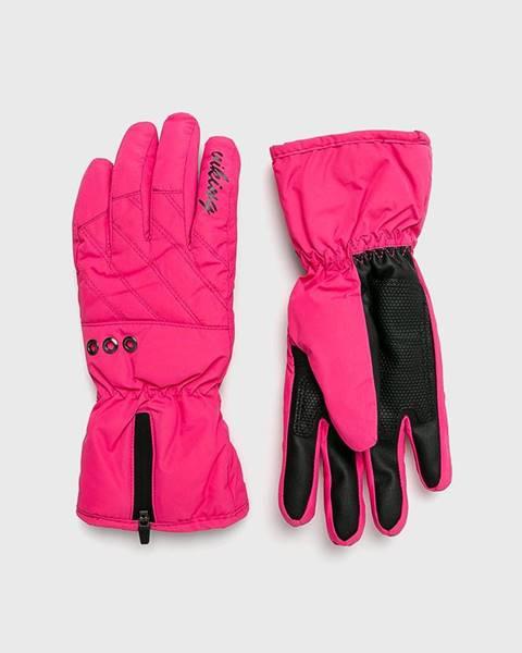 Růžové rukavice Viking