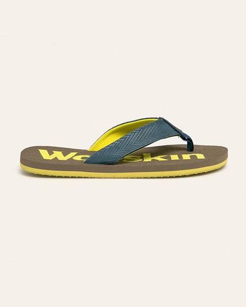Modré boty Jack Wolfskin