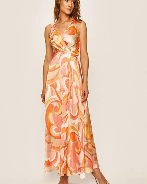 Oranžové šaty Morgan