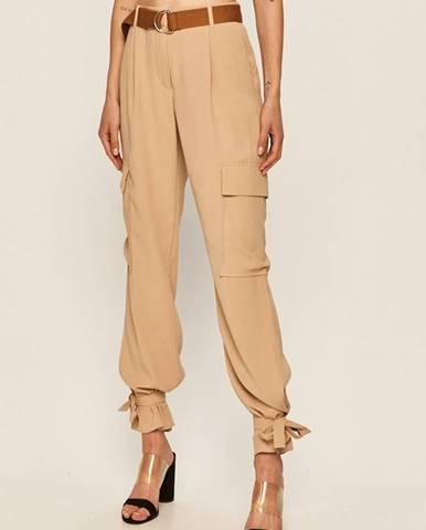 Béžové kalhoty vero moda